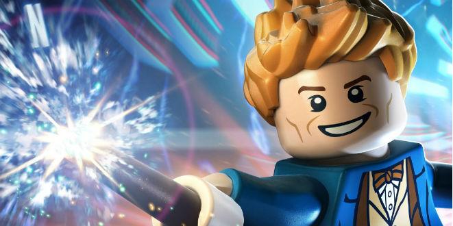 Newt Scamander Fantastic Beasts Lego