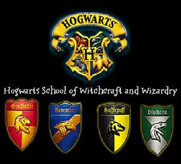 Hogwarts logo colors