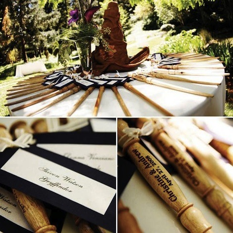 Wand wedding favors