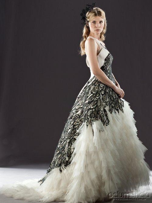 Fleur's wedding dress