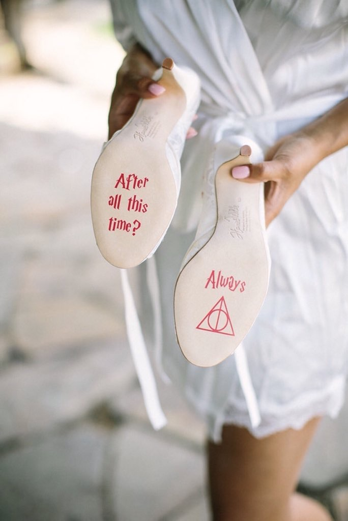 """""""Deathly Hallows""""-inspired shoes"""