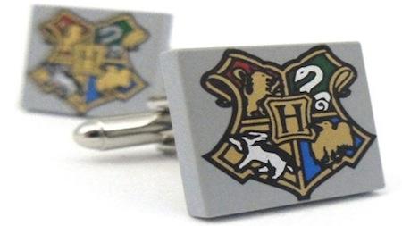 Hogwarts cufflinks