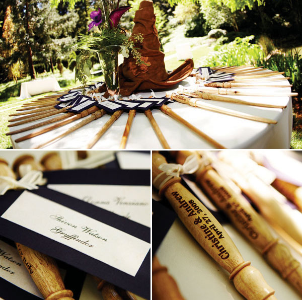 Wand party favors