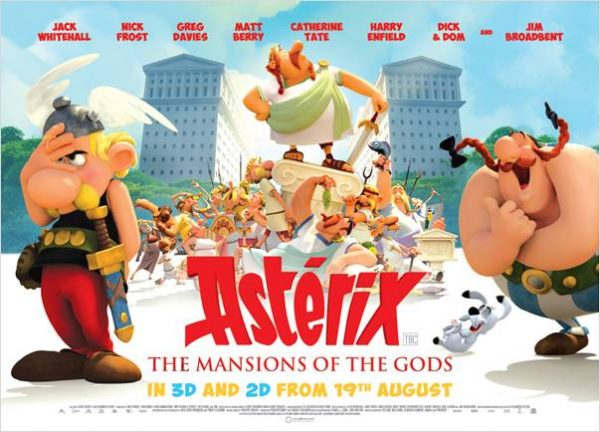 Asterix Mansion of the Gods movie poster