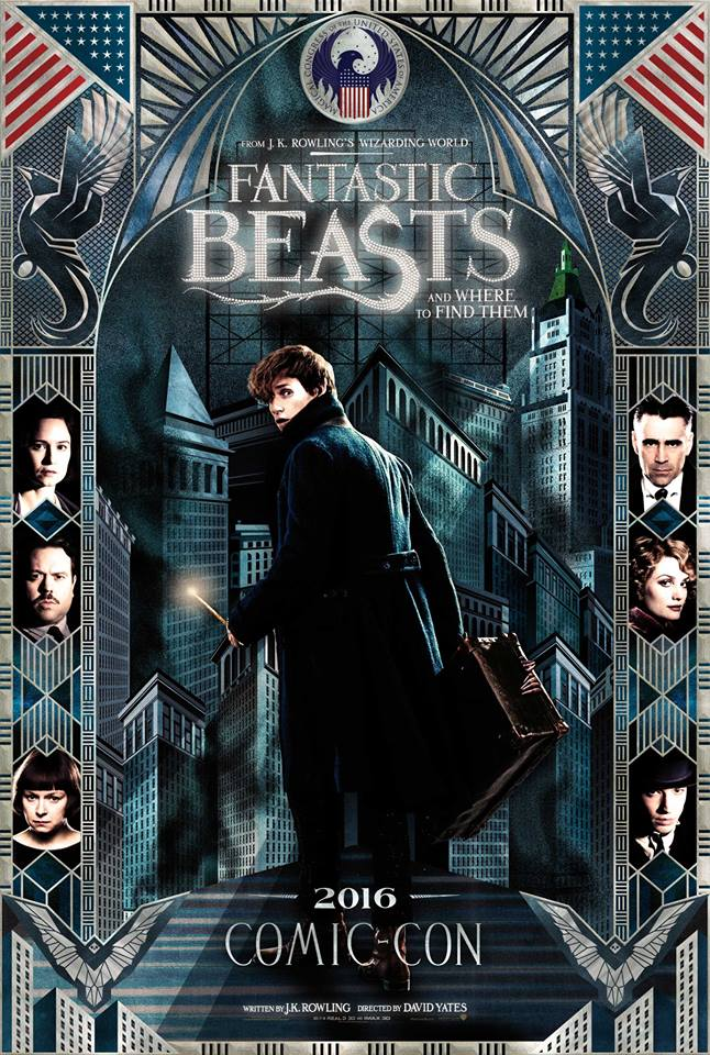 Fantastic Beasts new poster Comic-Con