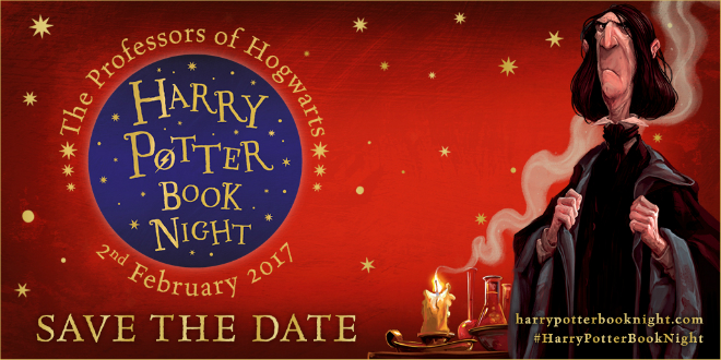 Harry Potter Book Night 3 Save the Date 2017