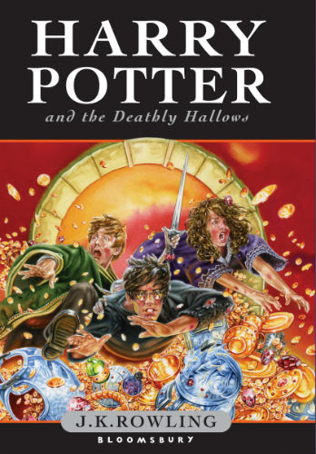 """""""Harry Potter and the Deathly Hallows"""" Book Cover – UK"""