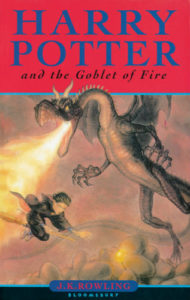 Harry Potter and the Goblet of Fire Book Cover - UK