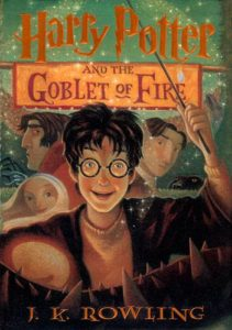 Harry Potter and the Goblet of Fire Book Cover - US