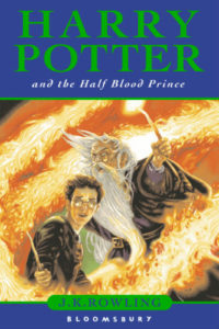 Harry Potter and the Half-Blood Prince Book Cover - UK