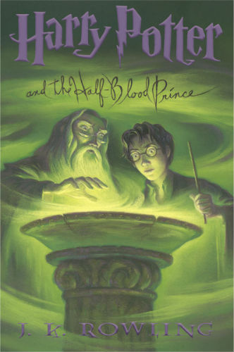 Harry Potter and the Half-Blood Prince Book Cover – US