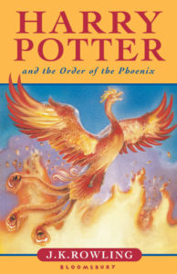 Harry Potter and the Order of the Phoenix Book Cover - UK
