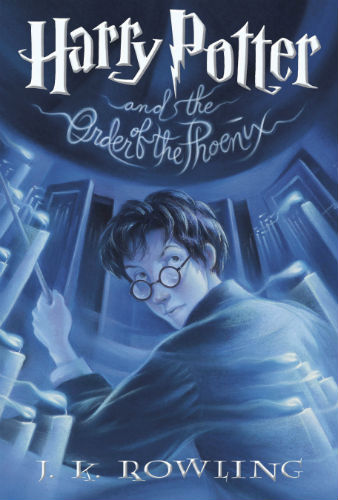 Harry Potter and the Order of the Phoenix Book Cover – US