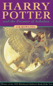 Harry Potter and the Prisoner of Azkaban Book Cover - UK