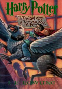 Harry Potter and the Prisoner of Azkaban Book Cover - US