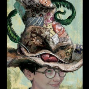 Jim Kay Chamber of Secrets - Sorting Hat
