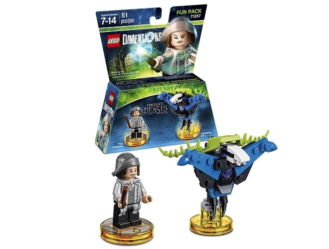 Lego Dimensions Tina Goldstein