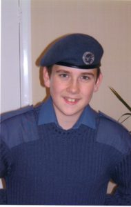 Matthew Lewis RAF Air Cadet