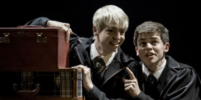 Albus and Scorpius Harry Potter and the Cursed Child