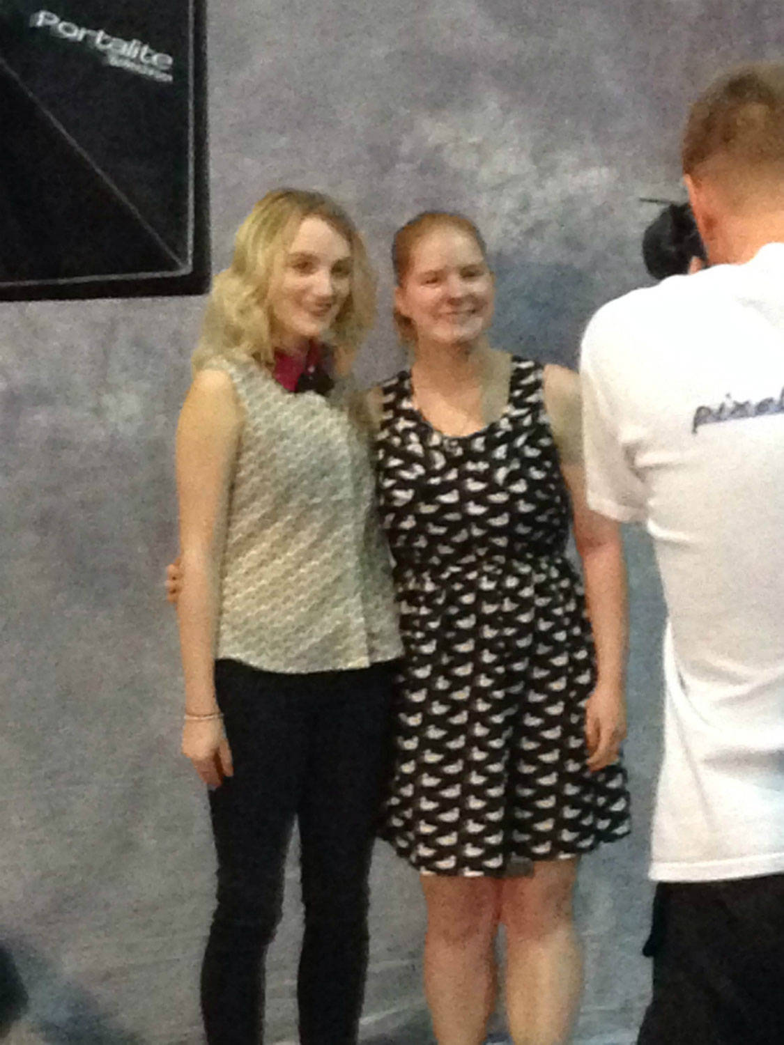 Armageddon Expo 2013 Auckland – Oct 27 – Evanna Lynch Photo Session – 5 (Photo credit: Tracey Wong)
