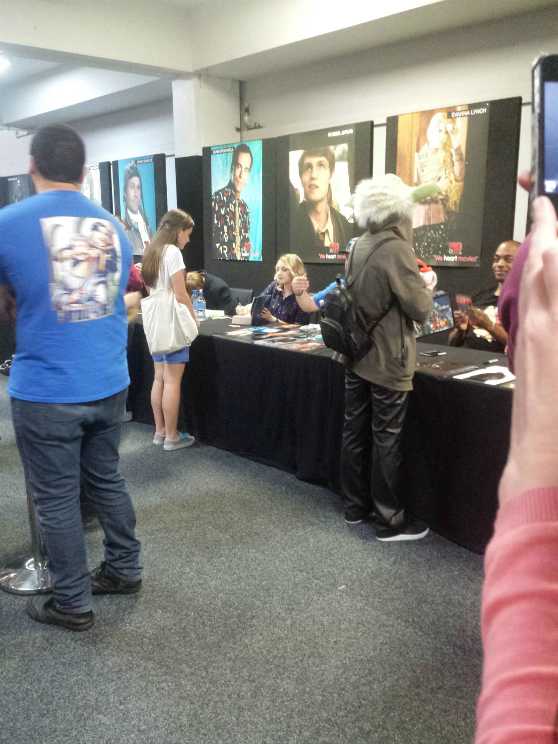 Armageddon Expo 2013 Auckland – Oct 28 – Autographs – 6 (Photo credit: Tracey Wong)