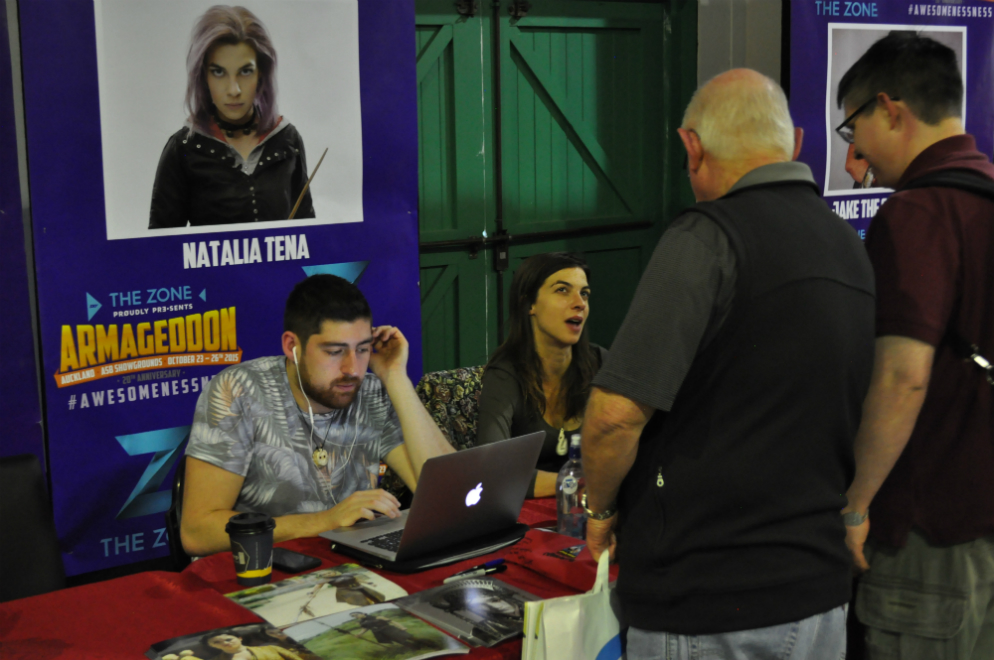 Armageddon Expo 2015 – Auckland – Autographs – 4 (Photo credit: Tracey Wong)