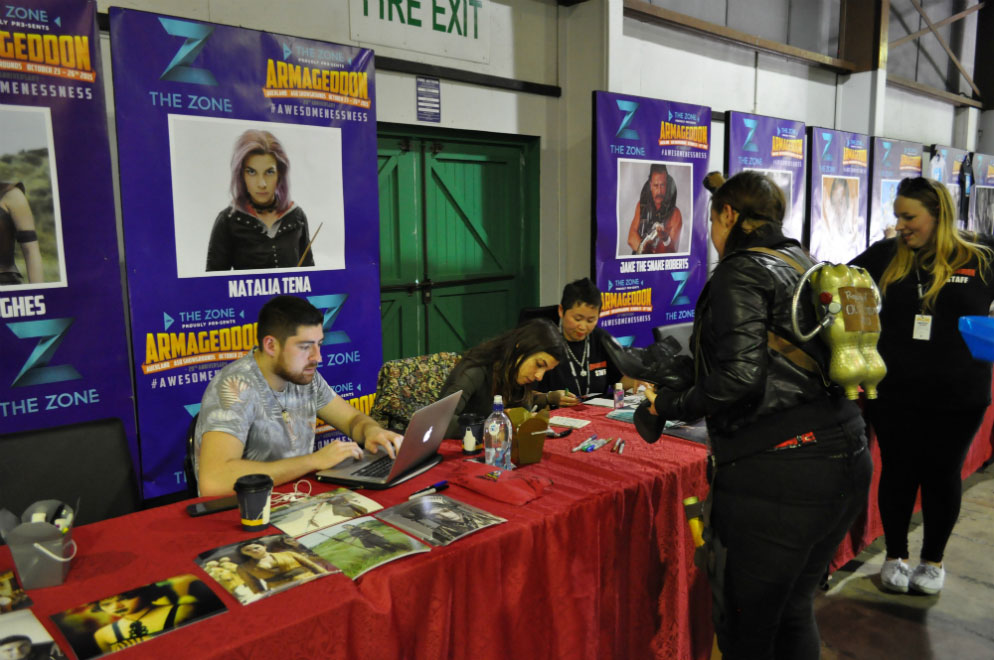 Armageddon Expo 2015 – Auckland – Autographs – 6 (Photo credit: Tracey Wong)