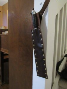 Completed Riveted Sheath