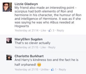 Cursed Child Reactions Screen Shot 3
