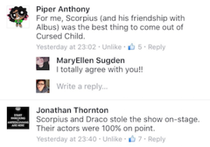 Cursed Child Reactions Screen Shot 4