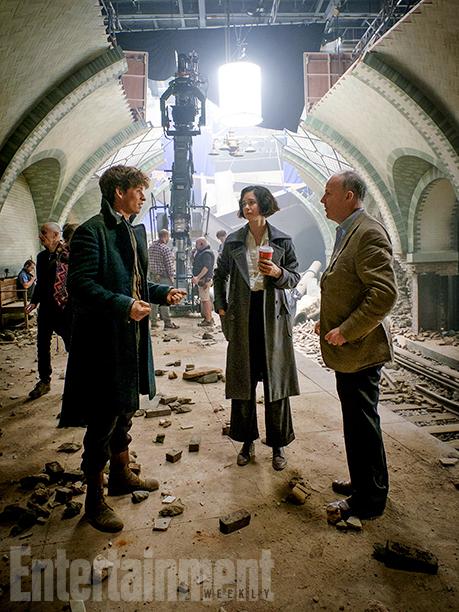 Fantastic Beasts Eddie Redmayne Katherine Waterston David Yates