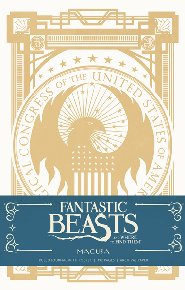 Fantastic Beasts and Where to Find Them: MACUSA Hardcover Ruled Journal. $19.95.