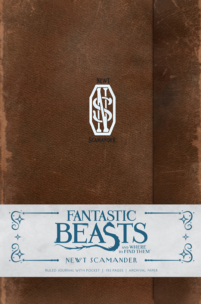 Fantastic Beasts and Where to Find Them: Newt Scamander Hardcover Ruled Journal. $19.95