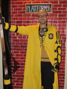 The Hufflepuff Quidditch Player Costume Contest Winner