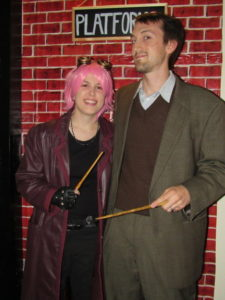 Tonks and Lupin Costume Contest Winners