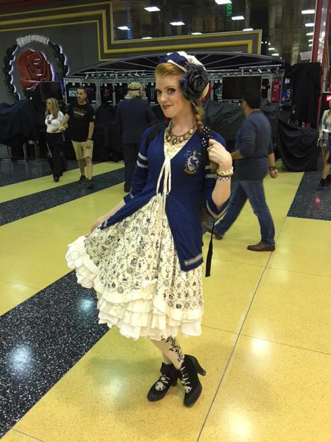 Wizard World Chicago Cosplay Lolita Ravenclaw