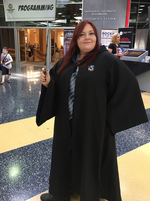 Wizard World Chicago Cosplay Ravenclaw