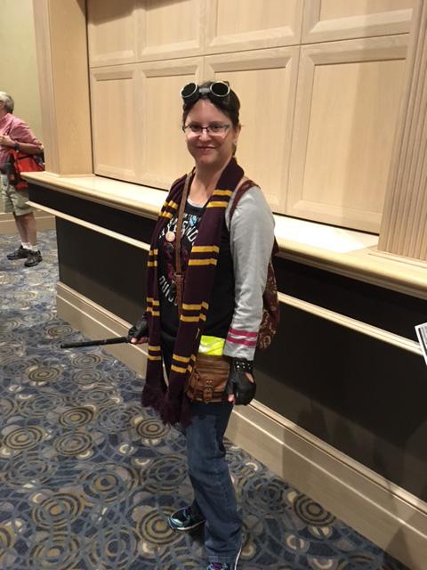 Wizard World Chicago Cosplay Steampunk Gryffindor