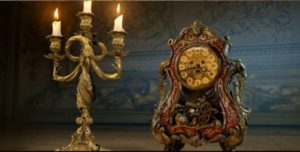 Beauty and the Beast Lumiere and Cogsworth