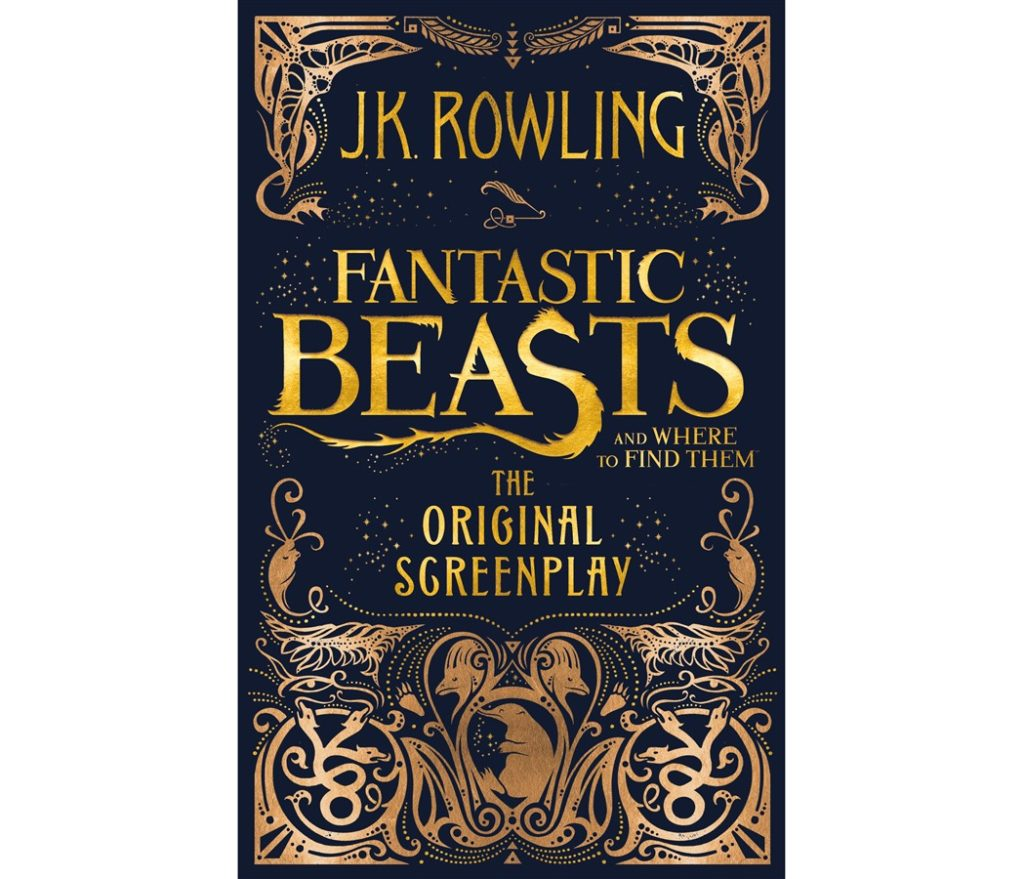 Fantastic Beasts Screenplay Cover UK