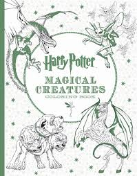 Harry Potter Magical Creatures Coloring Book