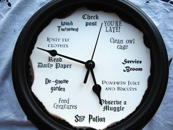 harry-potter-clock
