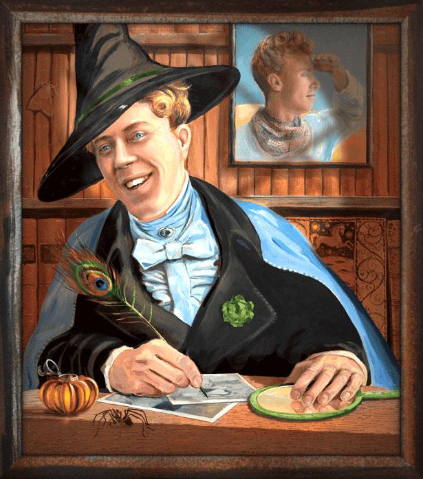 Gilderoy Lockhart illustration