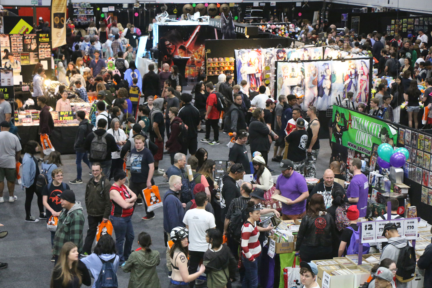 Armageddon Expo 2016 – Auckland – Oct 22 – Exhibit Hall – 1 (Photo credit: Tracey Wong)