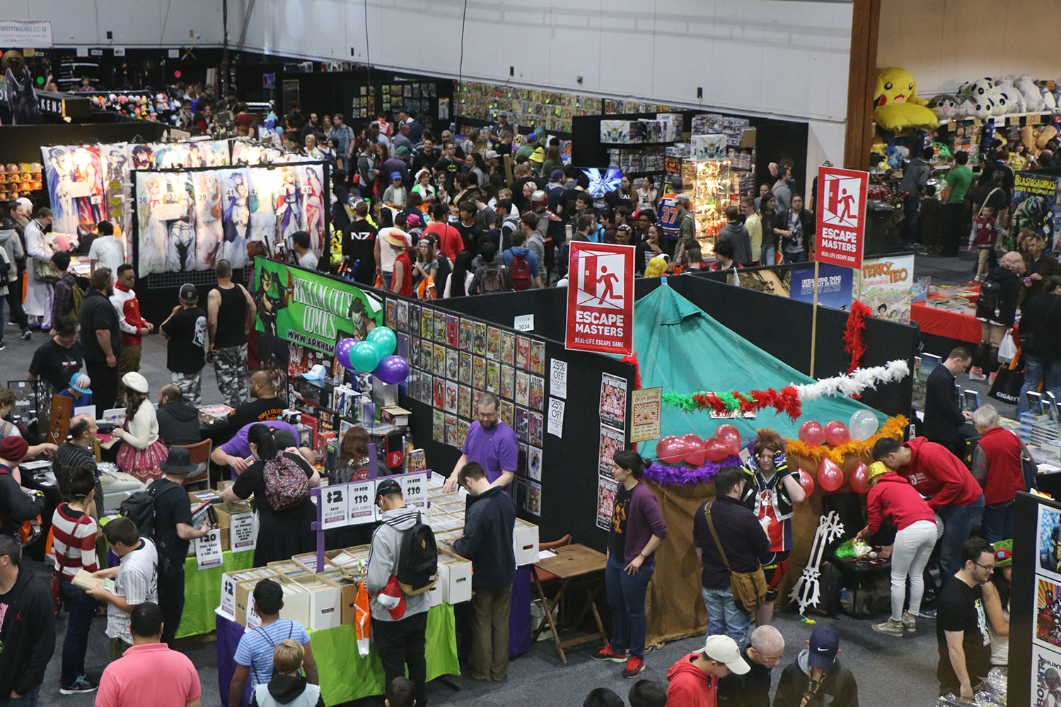 Armageddon Expo 2016 – Auckland – Oct 22 – Exhibit Hall – 2 (Photo credit: Tracey Wong)