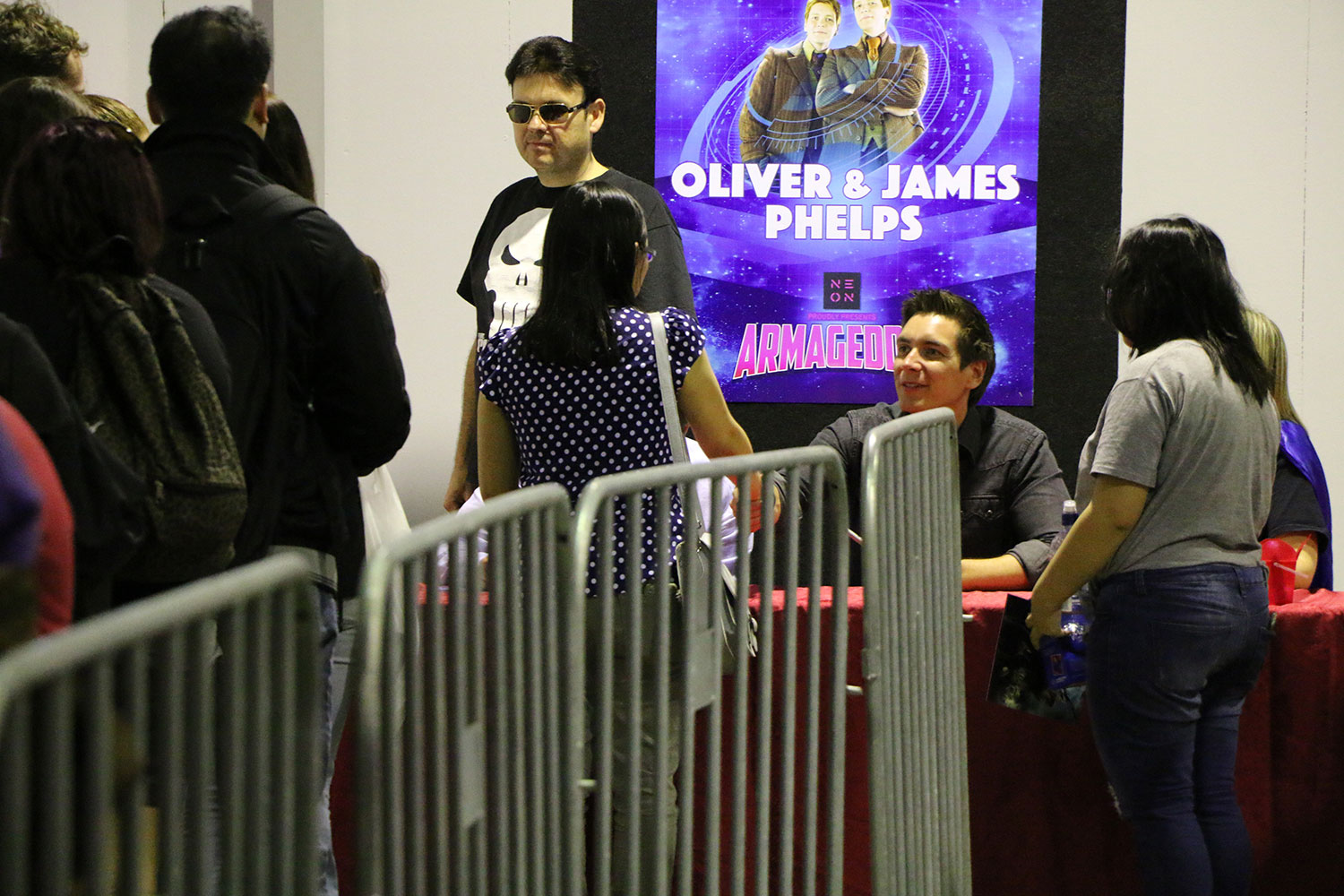 Armageddon Expo 2016 – Auckland – Oct 22 – James and Oliver Phelps Autograph Signing – 6 (Photo credit: Tracey Wong)