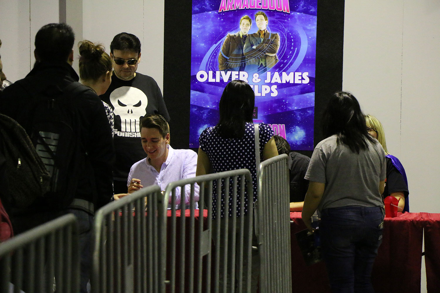 Armageddon Expo 2016 – Auckland – Oct 22 – James and Oliver Phelps Autograph Signing – 7 (Photo credit: Tracey Wong)