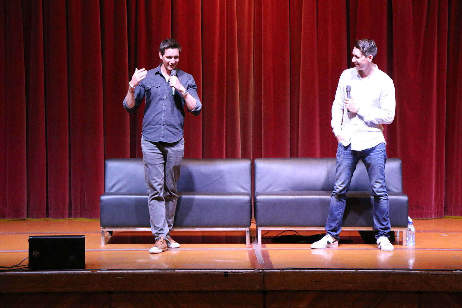 Armageddon Expo 2016 – Auckland – Oct 22 – James and Oliver Phelps Harry Potter Panel – 3 (Photo credit: Tracey Wong)
