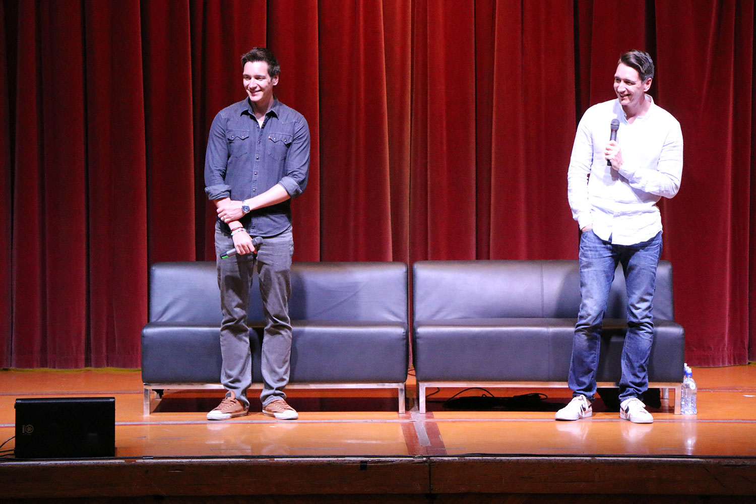 Armageddon Expo 2016 – Auckland – Oct 22 – James and Oliver Phelps Harry Potter Panel – 7 (Photo credit: Tracey Wong)