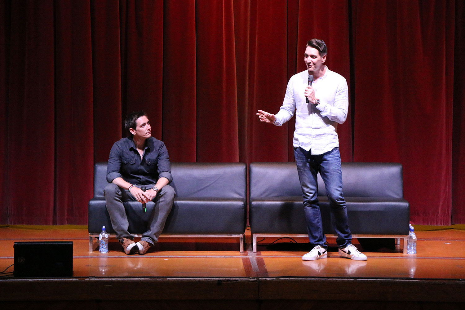 Armageddon Expo 2016 – Auckland – Oct 22 – James and Oliver Phelps Harry Potter Panel – 9 (Photo credit: Tracey Wong)